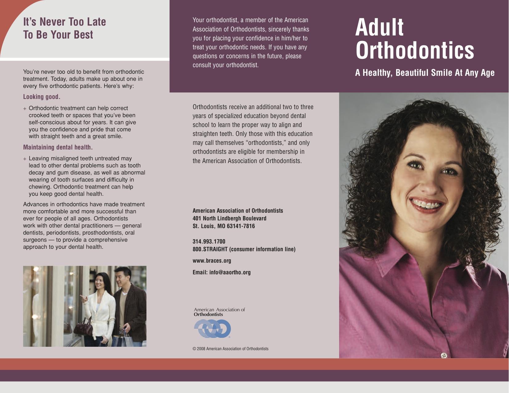 AAO- Adult Orthodontics